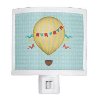Vintage Hot Air Balloon Night Light