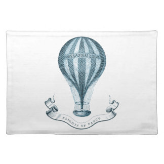 Vintage Hot Air Balloon Placemats