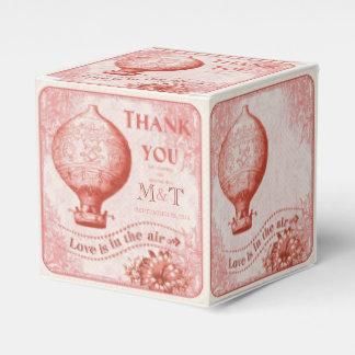 Vintage Hot Air Balloon Wedding Favors C3 Party Favor Boxes