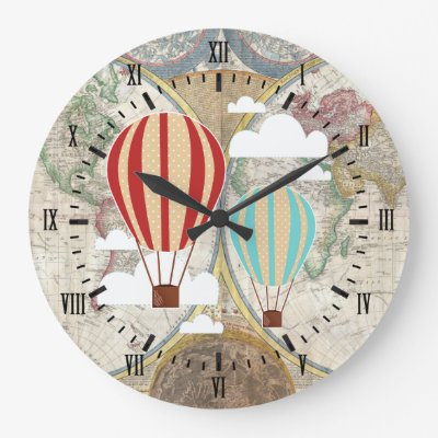 Old world map vintage history designer clock zazzle gumiabroncs Image collections