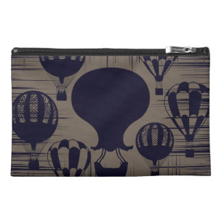 Vintage Hot Air Balloons Distressed Grunge Travel Accessories Bags