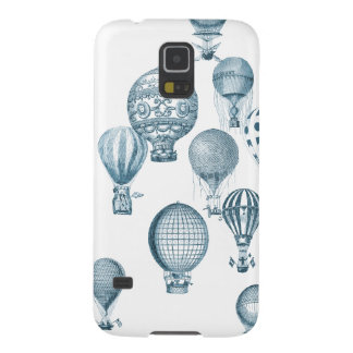 Vintage Hot Air Balloons in Flight iPhone Case Galaxy S5 Covers