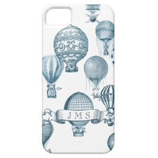 Vintage Hot Air Balloons in Flight iPhone Case iPhone 5 Cases
