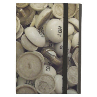 Vintage Hot and Cold Porcelain Knobs iPad Cover