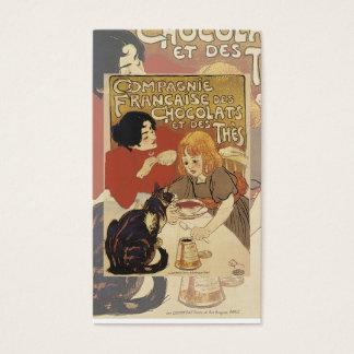Vintage Hot Chocolate Card