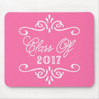 Vintage Hot Pink | Graduation Mouse Pad