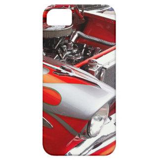 Vintage Hot Rod Orange Silver Case