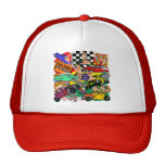 Vintage Hot Rod T-shirts and Gifts Trucker Hats