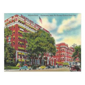 Vintage Hot Springs Arkansas Postcard