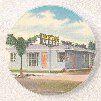 Vintage Hotel, Golden West Lodge Motel Coaster