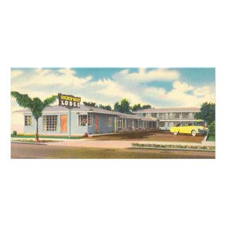 Vintage Hotel, Golden West Lodge Motel Rack Card