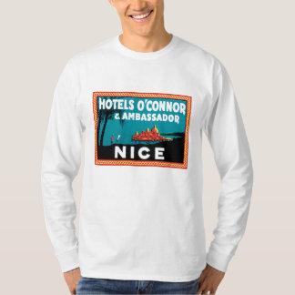 Vintage Hotel O'connor & Ambassador Nice T Shirt