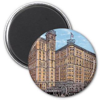 Vintage Hotel Seneca Magnet