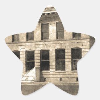 Vintage Hotel Star Sticker