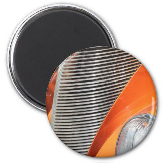 Vintage Hotrod 2 Inch Round Magnet