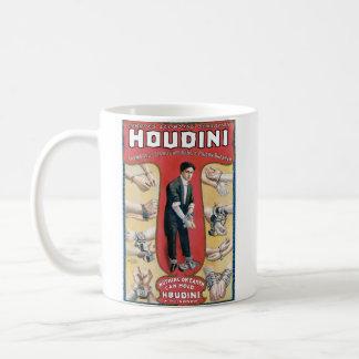 Vintage Houdini Handcuff King Advertising Poster Coffee Mugs