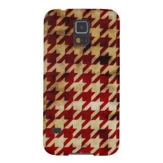 Vintage Houndstooth Galaxy S5 Case