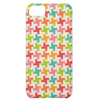 Vintage Houndstooth iPhone5 iPhone 5C Cases