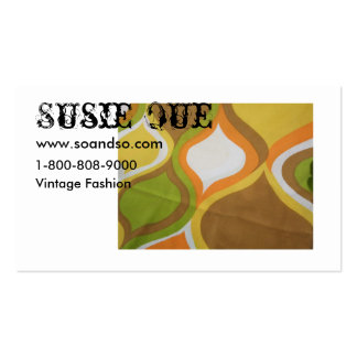 Vintage Hourglass inspired Business Card