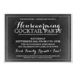 "Vintage Housewarming Cocktail Party Invitation 5"" X 7"" Invitation Card"
