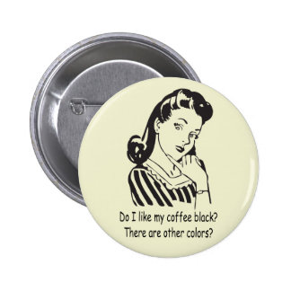 Vintage Housewife Pinback Button