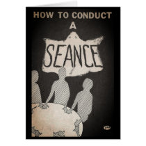 Vintage How-To Seance Book | Greeting Card 5 x 7