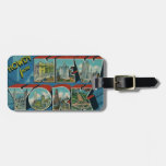 Vintage Howdy from New York Luggage Tags
