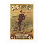 Vintage Howe Bicycles and Tricycles Ad Postcard
