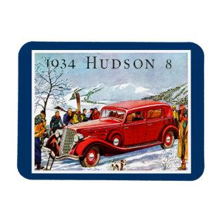 Vintage Hudson Automobile Ad Rectangular Photo Magnet