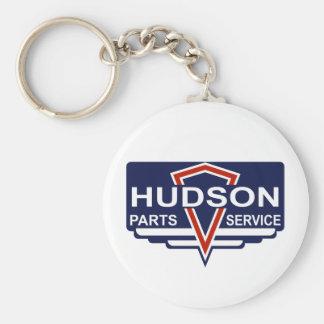 Vintage Hudson parts sign Keychains