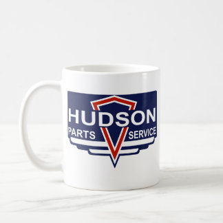 Vintage Hudson parts sign Classic White Coffee Mug