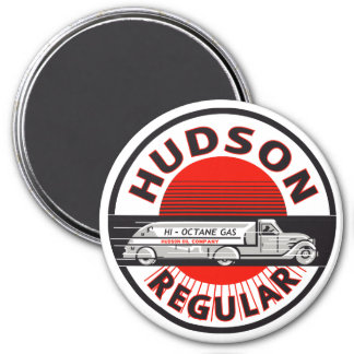 Vintage Hudson Regular gasoline sign Magnet