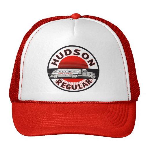 Vintage Hudson Regular gasoline sign Trucker Hat