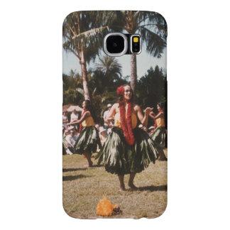 Vintage Hula Fundas Samsung Galaxy S6