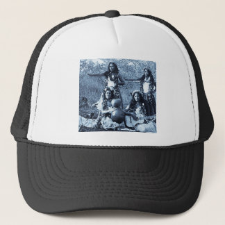 Vintage Hula Girls from the Territory of Hawaii Trucker Hat