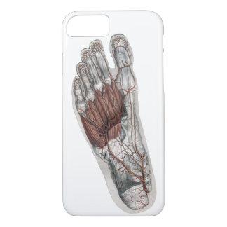Vintage Human Anatomy Footprint Podiatry Foot iPhone 8/7 Case
