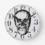 Vintage Human Skull Face Wall Clocks