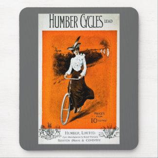 Vintage Humber Bike Advertisement Mouse Pad