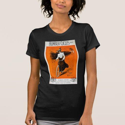 Vintage Humber Bike Advertisement T Shirts