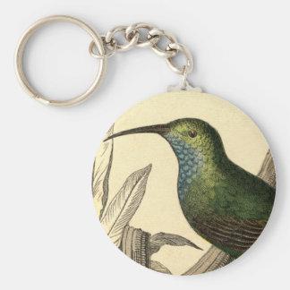 Vintage Hummingbird Keychain