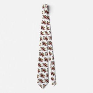 Vintage Humor Cute Dalmatian Puppy Dogs Fire Truck Neck Tie