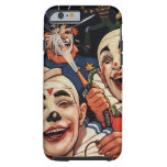 Vintage Humor, Laughing Circus Clowns and Police Tough iPhone 6 Case