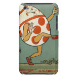Vintage Humpty Dumpty en el baile de la pared Barely There iPod Coberturas