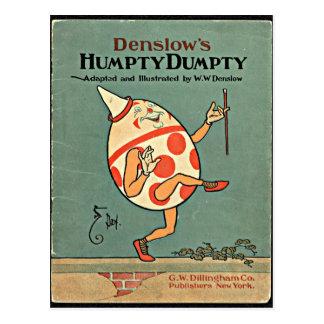 Vintage Humpty Dumpty Tarjetas Postales