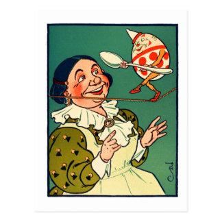 Vintage Humpty Dumpty W.W. Denslow Postcard