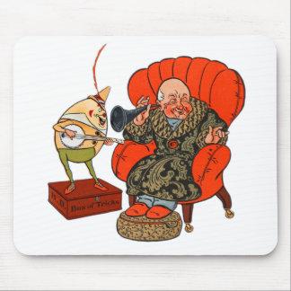 Vintage Humpty Dumpty y sus trucos mágicos Tapetes De Raton