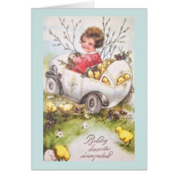 Hungarian easter gifts on zazzle vintage hungarian easter greeting card negle Choice Image