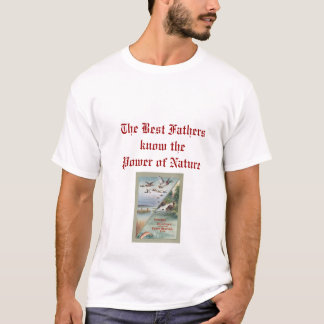 Vintage Hunting & Fishing T-Shirt for Best Father