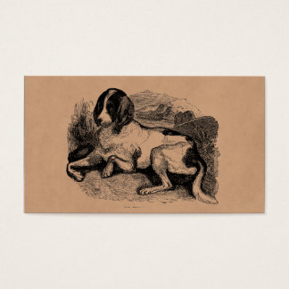 Vintage Hunting Hound Dog 1800s Hounds Dogs Business Card