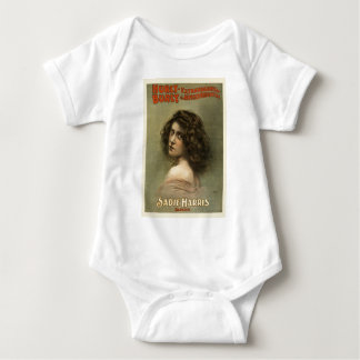 vintage-hurly-burly-poster. baby bodysuit